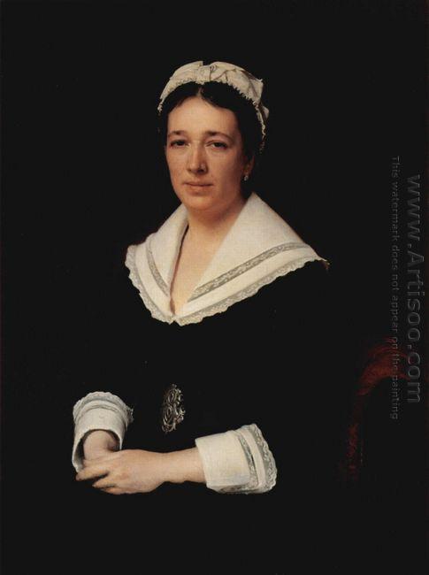 Portrait Of Vera Nikolaevna Tretjakowa Born Mamontowa 1876