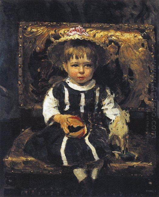 Portrait Of Vera Repina 1874