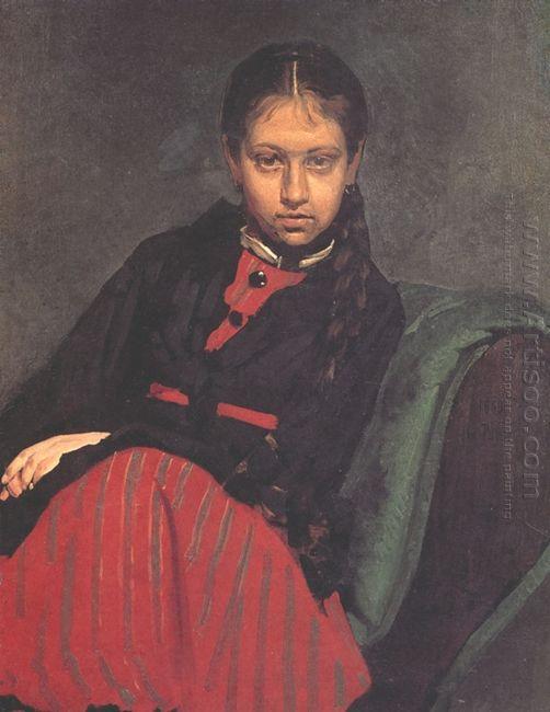 Portrait Of Vera Shevtsova 1869