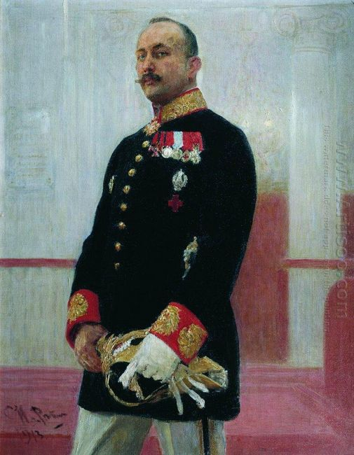 Portrait Of V Gudovich 1913