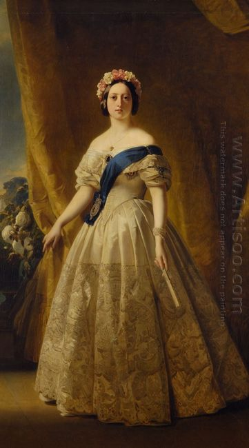 Portrait Of Victoria Of The United Kingdom 1