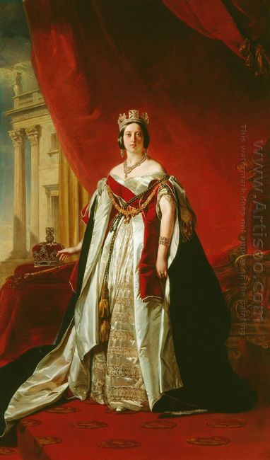 Portrait Of Victoria Of The United Kingdom