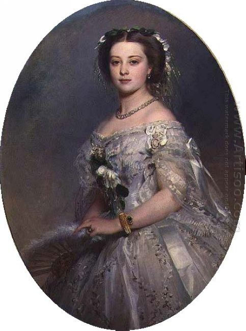 Portrait Of Victoria Princess Royal