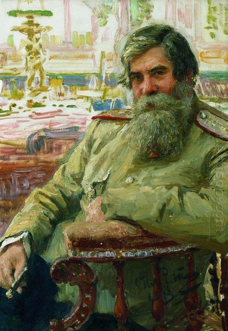 Portrait Of Vladimir Bekhterev 1913