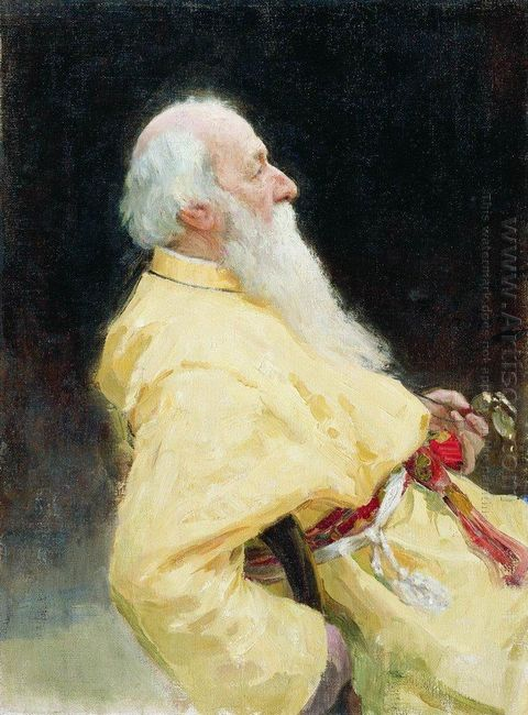 Portrait Of V Stasov 1905