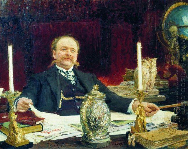 Portrait Of Wilhelm Von Bitner 1912