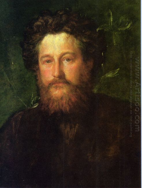 Portrait Of William Morris 1870