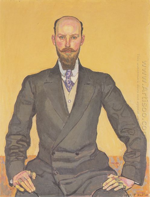 Portrait Of Willy Russ 1911
