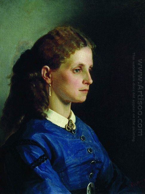 Portrait Of Yanitskaya 1865