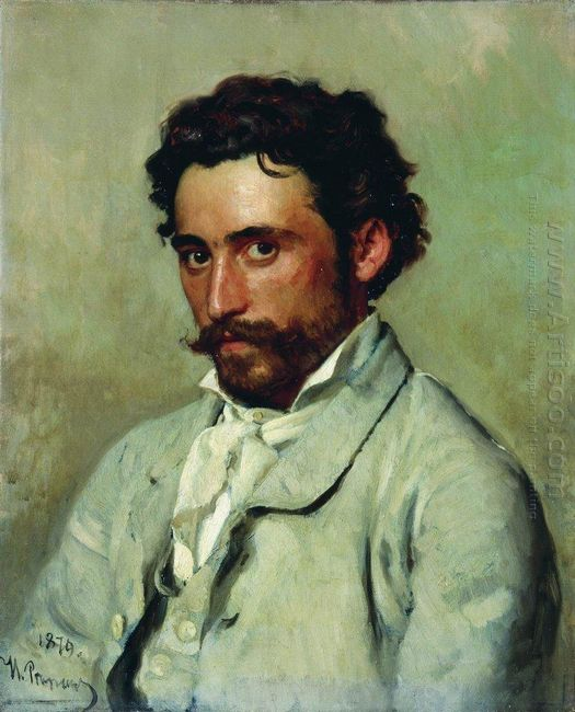 Portrait Of Yurkevich 1879