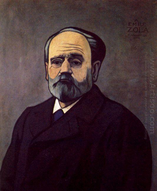 Portrait Of Zola 1902