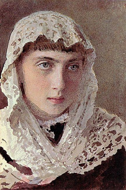 Portrait S I Kramskoy