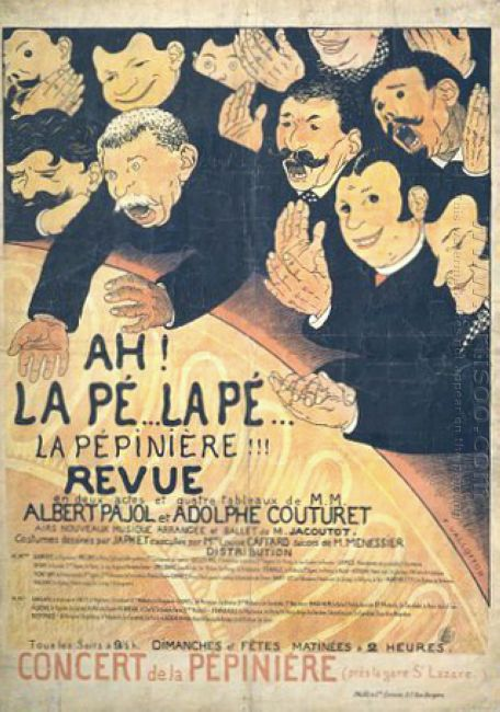 Poster Ah La P La P La Pepini Re 1898
