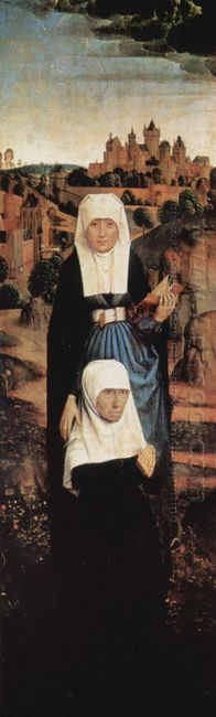 Praying Donor With Saints 1470