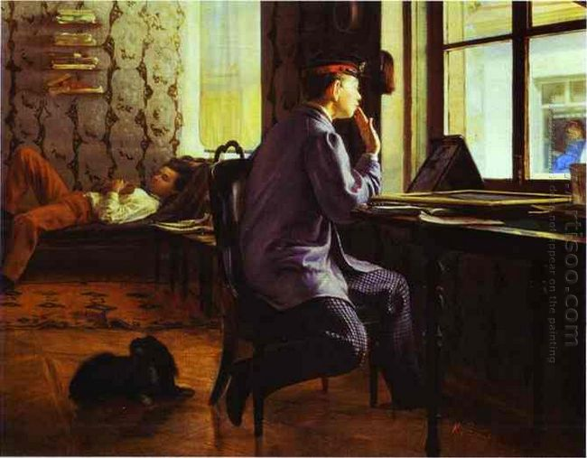 Preparation For The Examination 1864