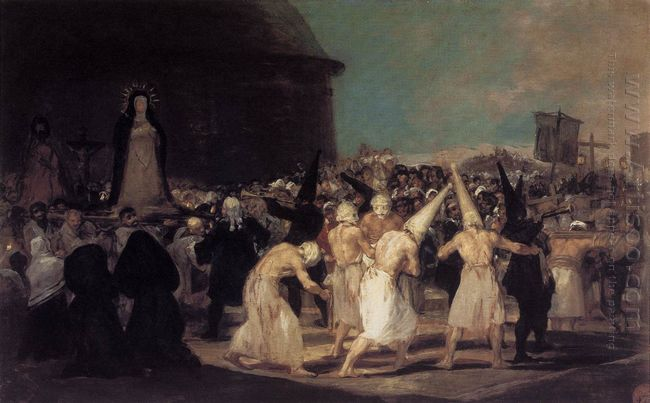 Procession Of Flagellants 1793