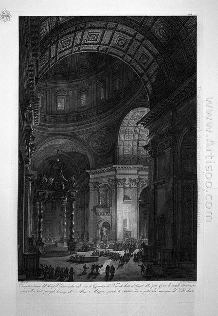 Prospetto Anteriore Del Tempio Vaticano Venduto Nelle Sere Di Gi