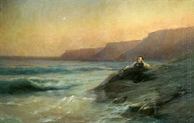 Pushkin On The Coast Black Sea 1887