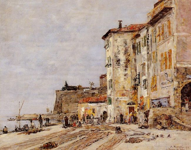 Quay At Villefranche 1892