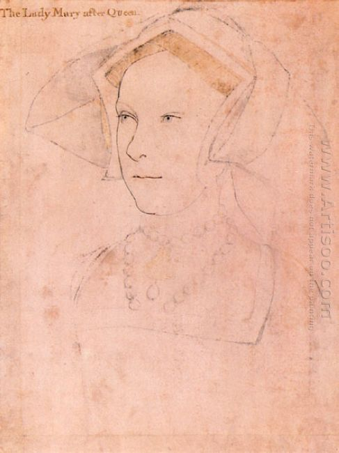 Queen Mary I Tudor 1536