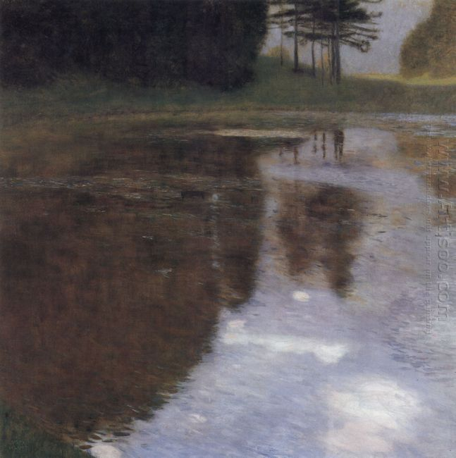 Quiet Pond In The Park Of Appeal