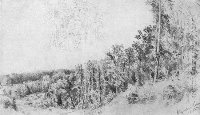 Ravine In Kozlovka Zaseka 1873