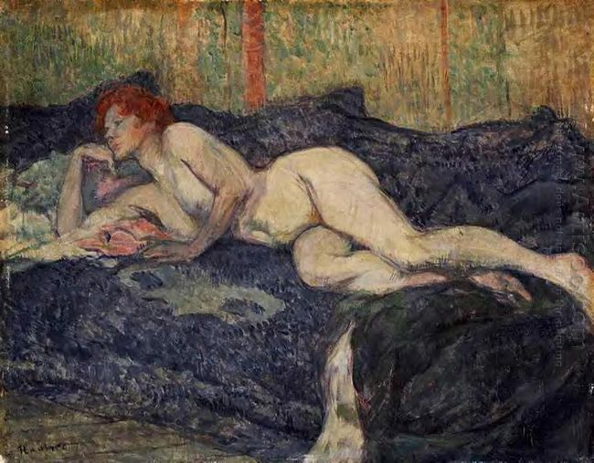 Reclining Nude 1897