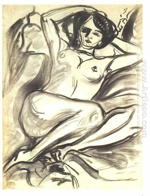 Reclining Nude Isabella 1906