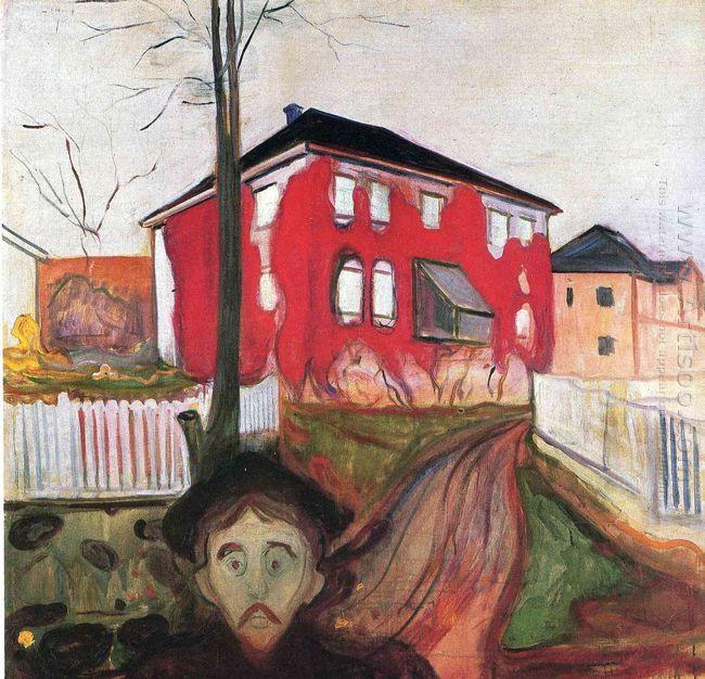 Red Virginia Creeper 1900