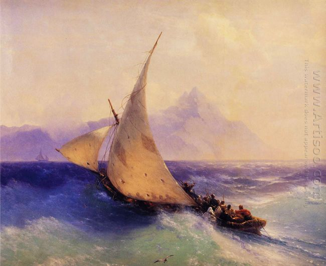 Rescue At Sea 1872