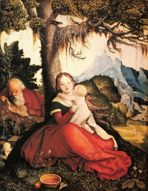 Rest On The Flight To Egypt 1514