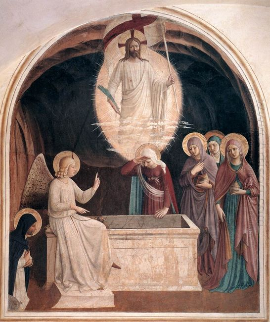 Resurrection Of Christ And Women At The Tomb 1442