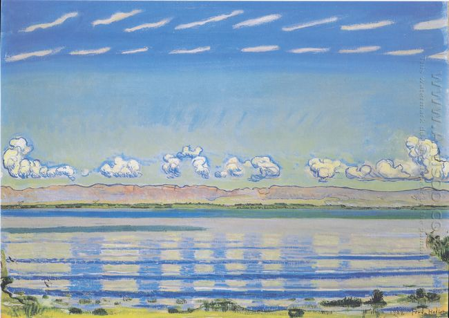Rhythmic Landscape On Lake Geneva 1908