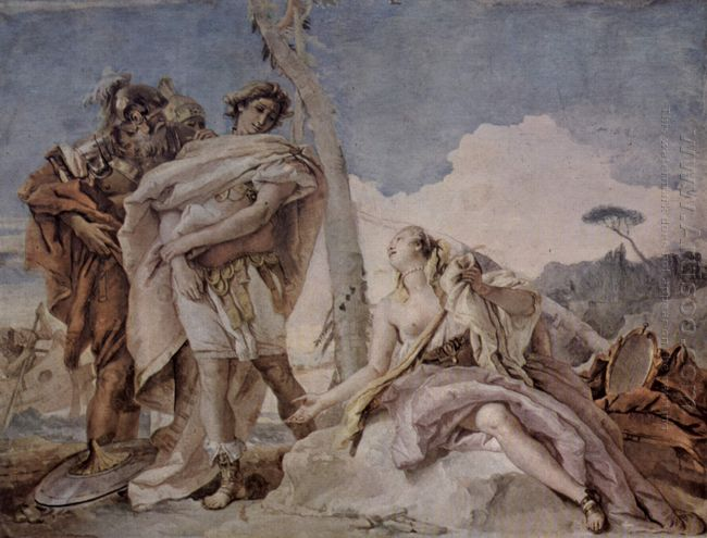 Rinaldo Abandoning Armida 1757