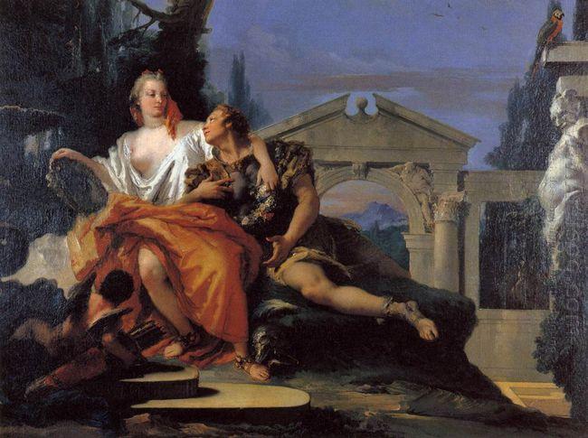 Rinaldo And Armida 1753