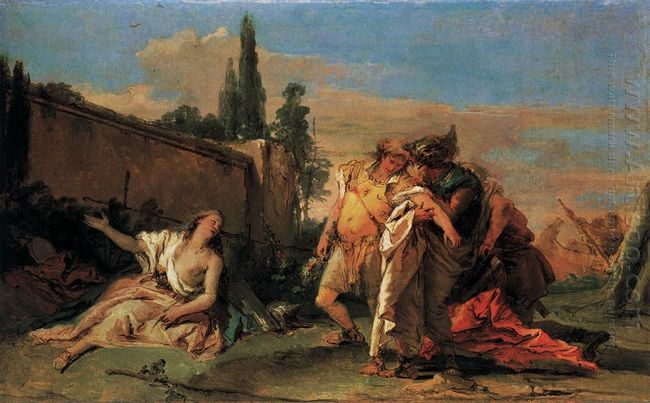Rinaldo S Departure From Armida 1760