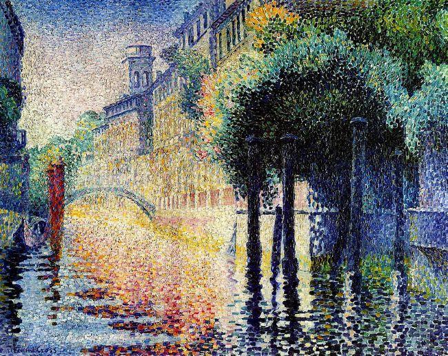 Rio San Trovaso Venice 1904