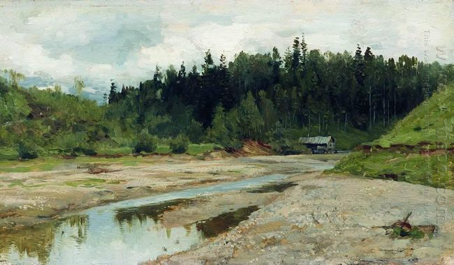 River In The Forest 1886