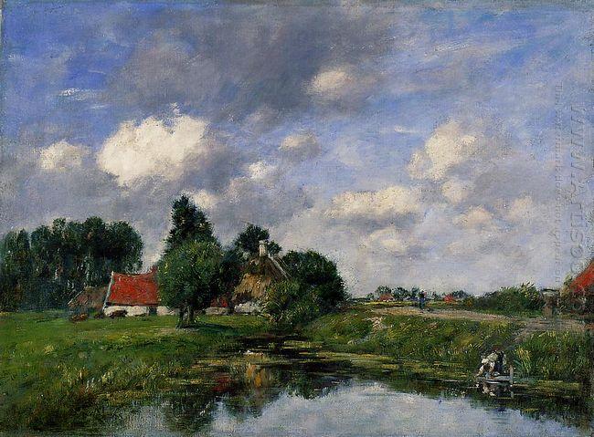 River Near Dunkirk 1889