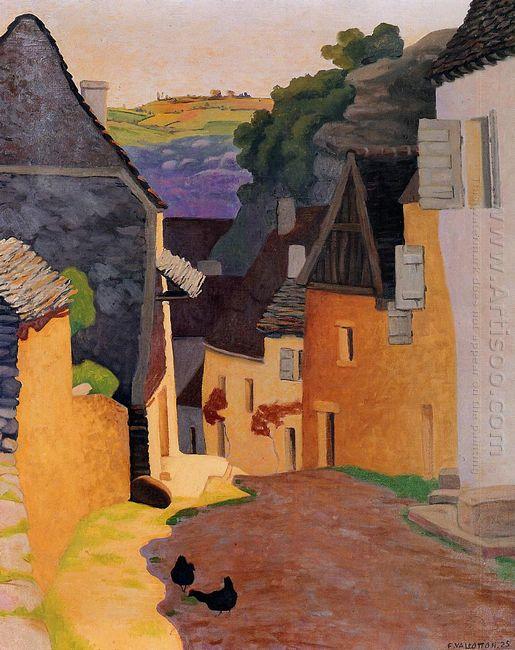 Rocamadour Landscape 1925