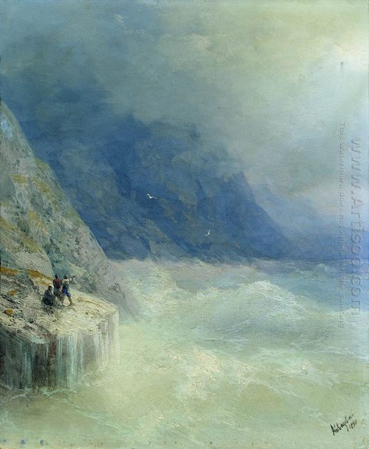 Rocks In The Mist 1890
