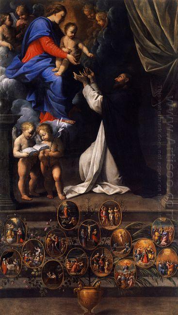 Rosary Madonna 1598