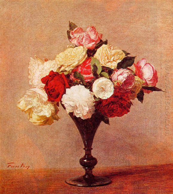 Roses In A Vase 1888