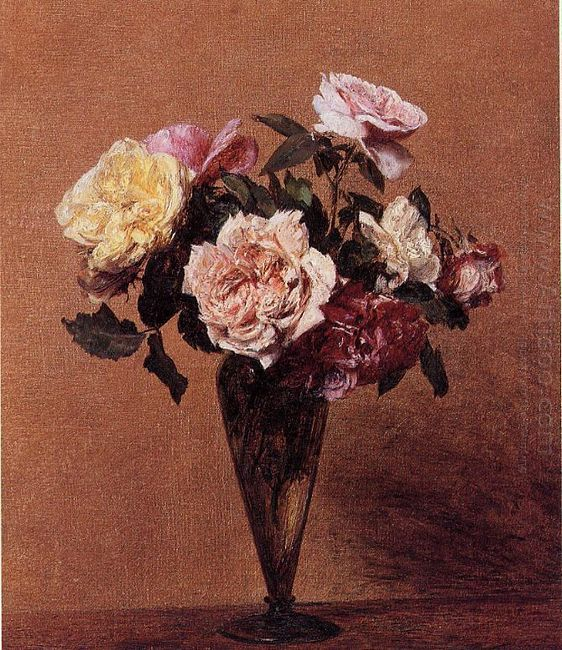 Roses In A Vase 1892