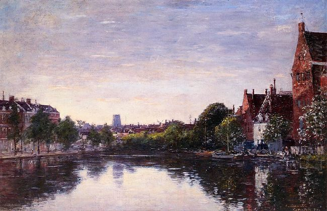 Rotterdam A Corner Of The Basin 1877