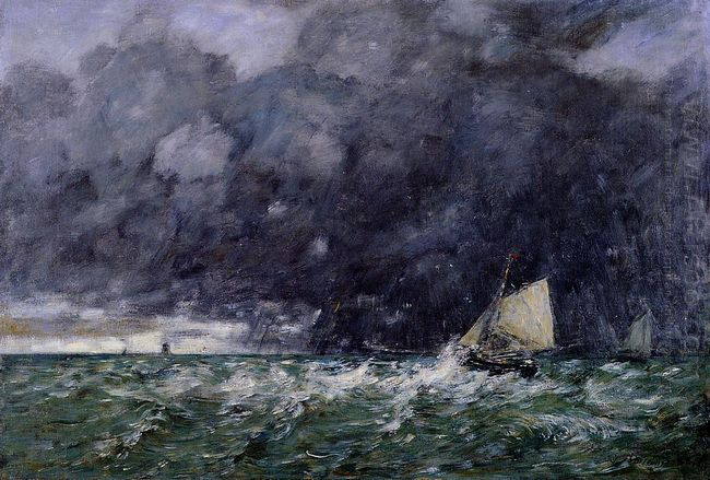 Rough Seas 1885
