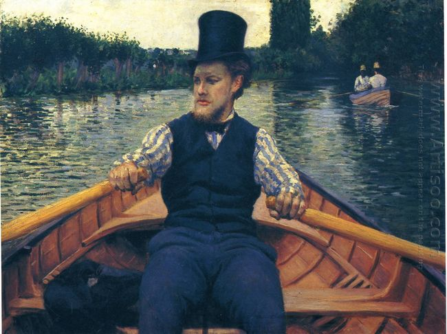 Rower In A Top Hat 1878