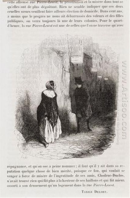 Rue Pierre Lescot The Streets Of Paris Under Louis Lurin