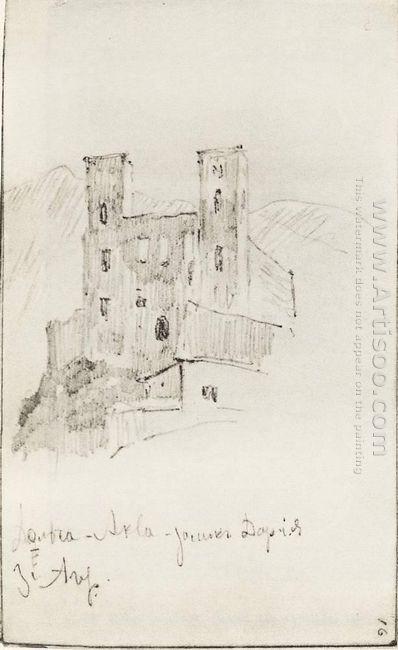 Ruins Of Castle Doria 1890