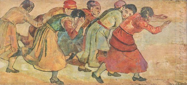 Running Women 1895